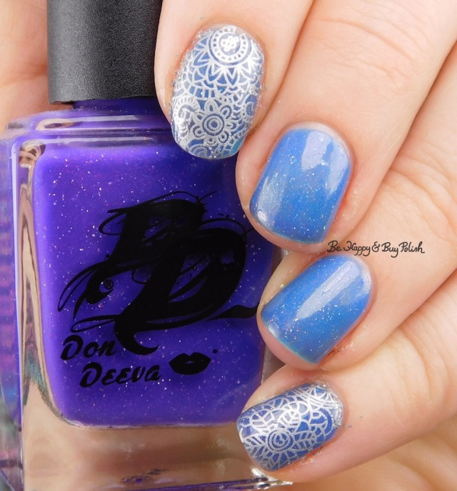 Don Deeva Varnish Notorious PEE with water slide decal | Be Happy And Buy Polish