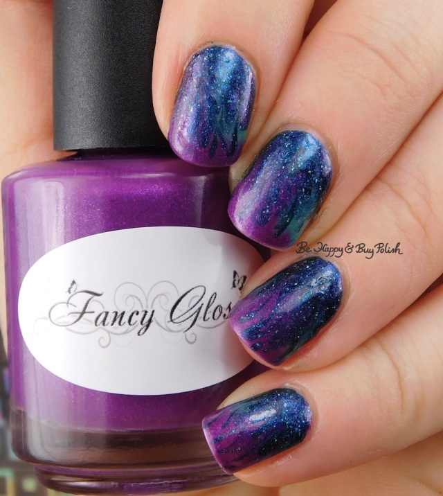 Fancy Gloss Calypso's Curse, Polish 'M The Haunted Mask thermal flame drag marble cold state | Be Happy And Buy Polish