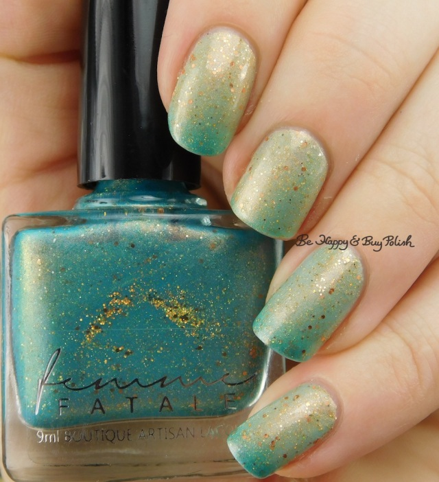 Femme Fatale Cosmetics A Fortune Teller's Charm transition from warm to cold | Be Happy And Buy Polish