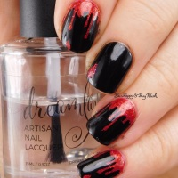 Halloween nail art manicures
