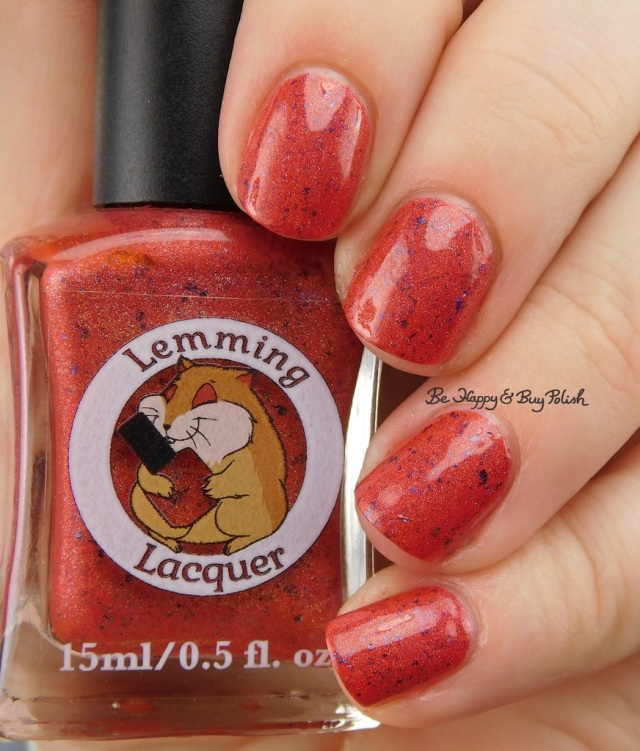 Lemming Lacquer Holo-maniacs Custom No 1 | Be Happy And Buy Polish