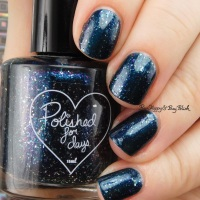 Polished for Days Deephaven nail polish swatch + review