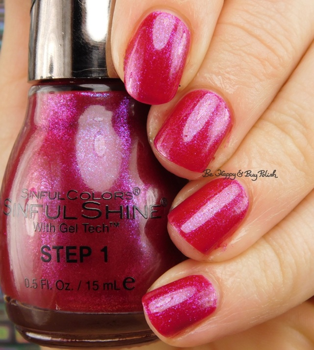 Sinful Colors Cranberry Craze | Be Happy And Buy Polish