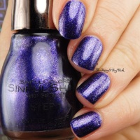 Sinful Colors Sinful Shines Cranberry Craze, Funky Fierce, So Symbolic swatches + review