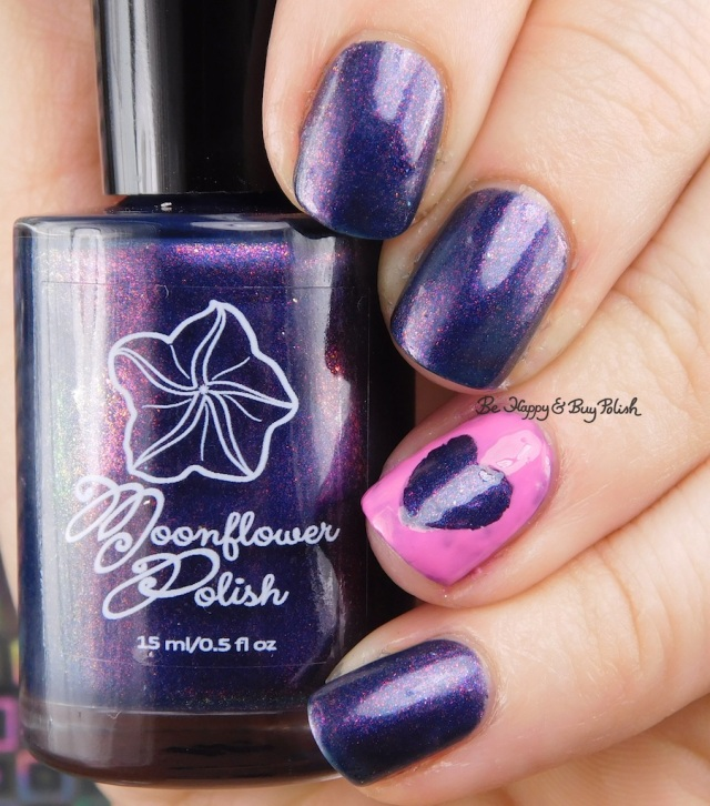 Moonflower Polish Do You Love Me with heart | Be Happy And Buy Polish