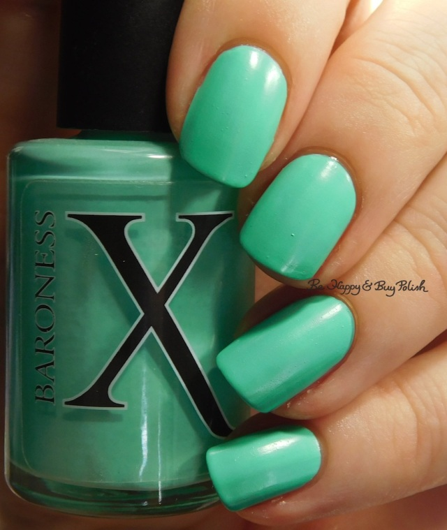 Baroness X Topanga Teal | Be Happy And Buy Polish