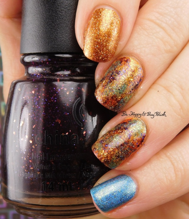China Glaze Howl You Doin, CrowsToes Nail Color Buck You, An Edgy Ocean Dream, Polish 'M Tangelo | Be Happy And Buy Polish