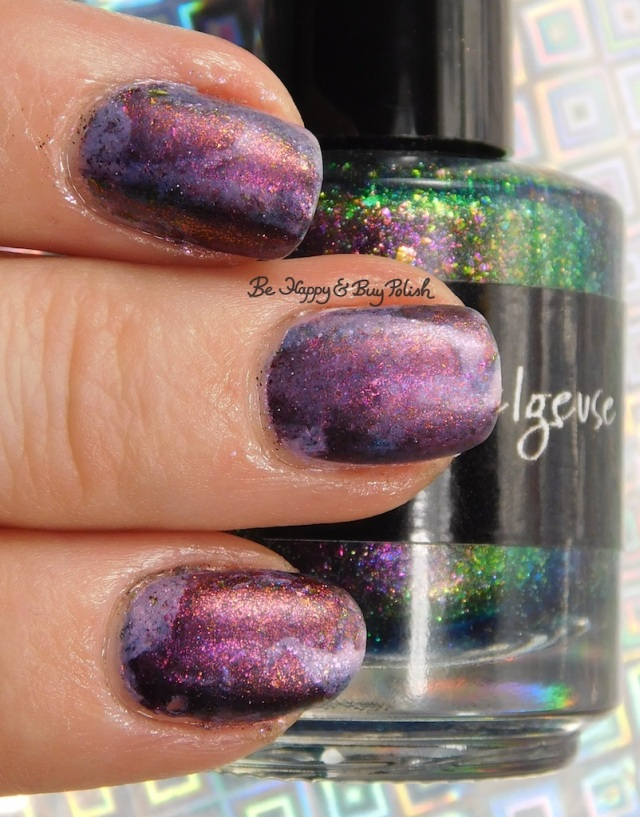 CrowsToes Nail Color Betelgeuse, Hellhound, Sweet Evil with matte top coat | Be Happy And Buy Polish
