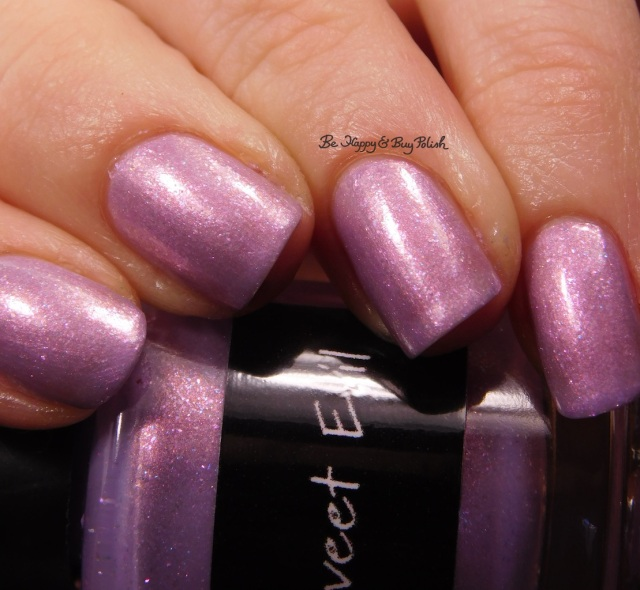 CrowsToes Nail Color Sweet Evil close up February Polish Pickup Pack | Be Happy And Buy Polish