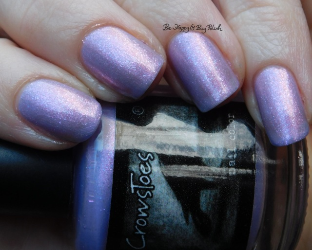 CrowsToes Nail Color Sweet Evil natural light close up February Polish Pickup Pack | Be Happy And Buy Polish