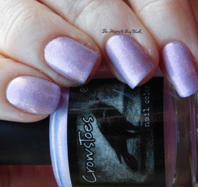 CrowsToes Nail Color Sweet Evil natural light February Polish Pickup Pack | Be Happy And Buy Polish