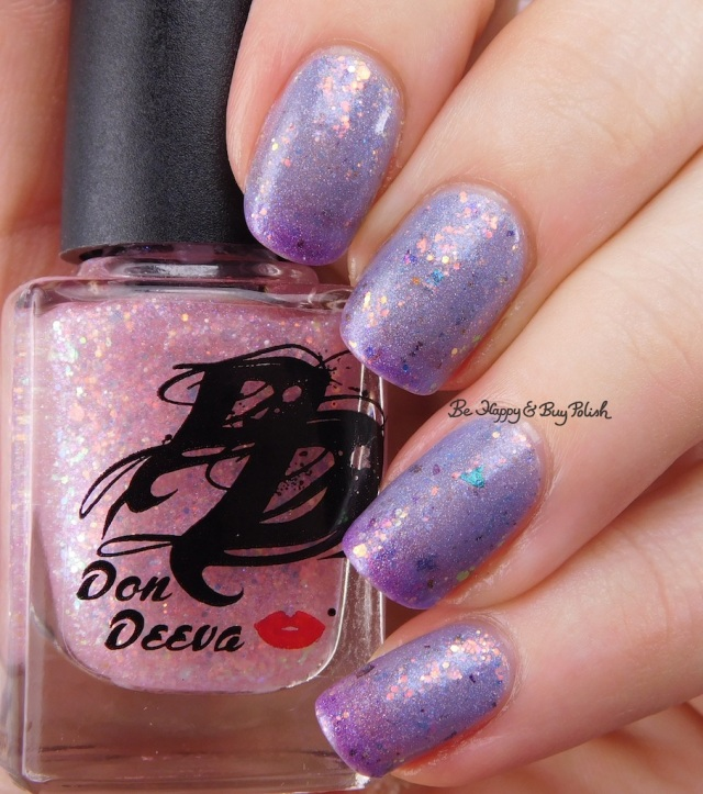 Don Deeva Varnish Stripper Glitter over Box Office Bitch | Be Happy And Buy Polish