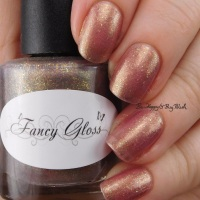 Fancy Gloss Heart Shaped Locket thermal polish swatch + review