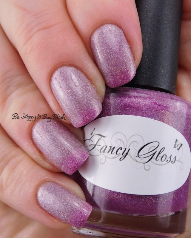 Fancy Gloss Silver Lotus cold state | Be Happy And Buy Polish