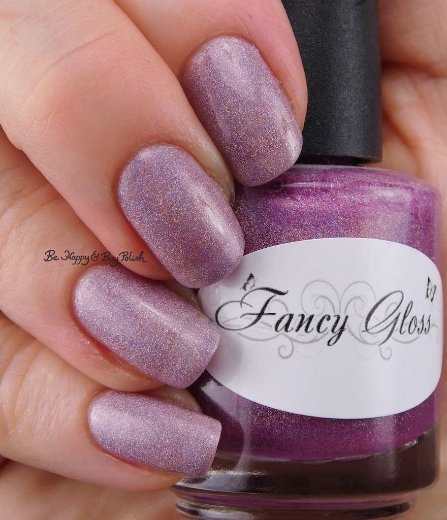 Fancy Gloss Silver Lotus thermal nail polish swatch + review | Be ...