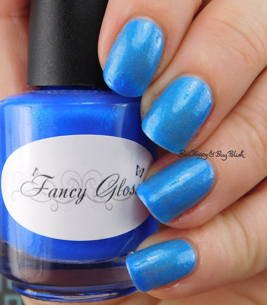 Fancy Gloss Winter Wonderland thermal nail polish swatch + review ...
