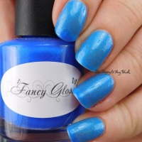 Fancy Gloss Winter Wonderland thermal nail polish swatch + review