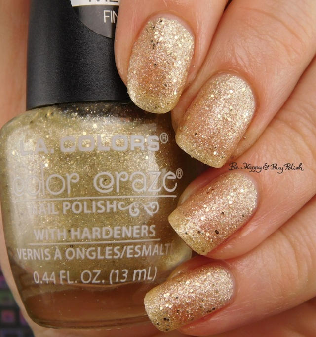 LA Colors Color Craze Encore Textured Metal Finish | Be Happy And Buy Polish