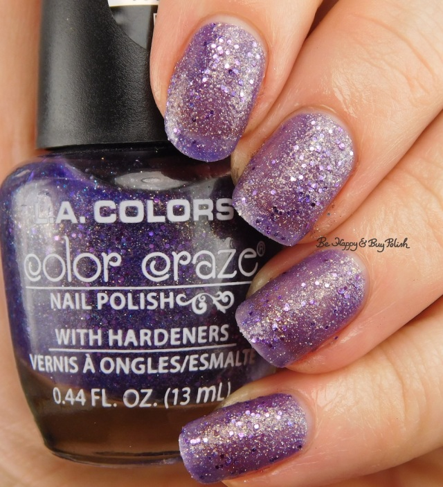 LA Colors Color Craze Groupie Textured Metal Finish   Be Happy And Buy Polish