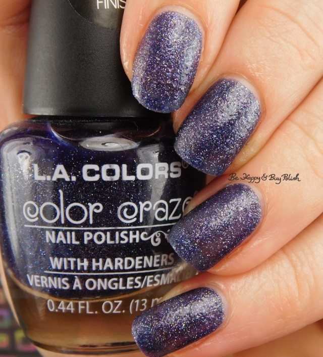 LA Colors Color Craze Grunge Textured Metal Finish | Be Happy And Buy Polish