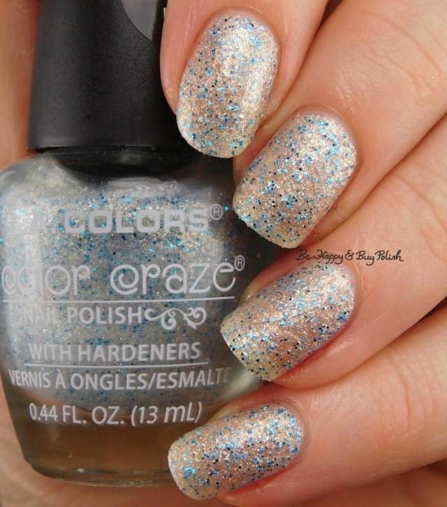 LA Colors Color Craze Punk Textured Metal Finish | Be Happy And Buy Polish