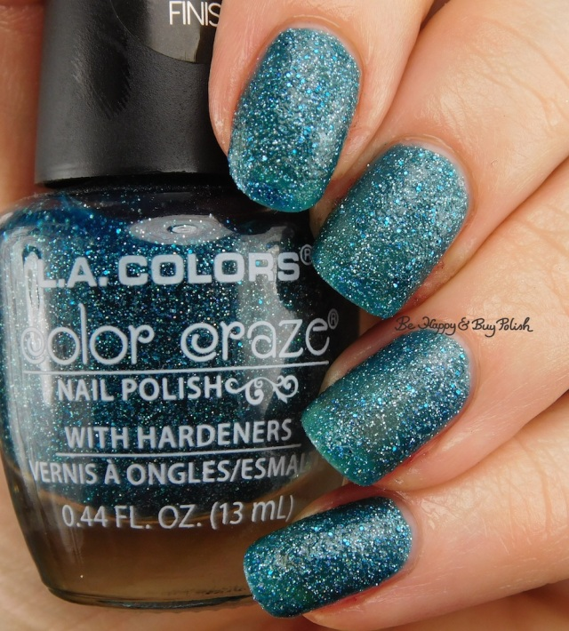 LA Colors Color Craze Roadie Textured Metal Finish | Be Happy And Buy Polish