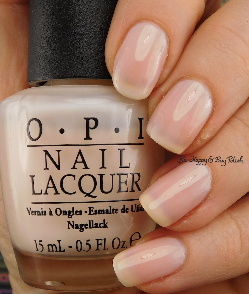 OPI Don\'t Burst My Bubble nail polish swatch   Be Happy and Buy Polish