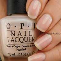 OPI Don't Burst My Bubble nail polish swatch