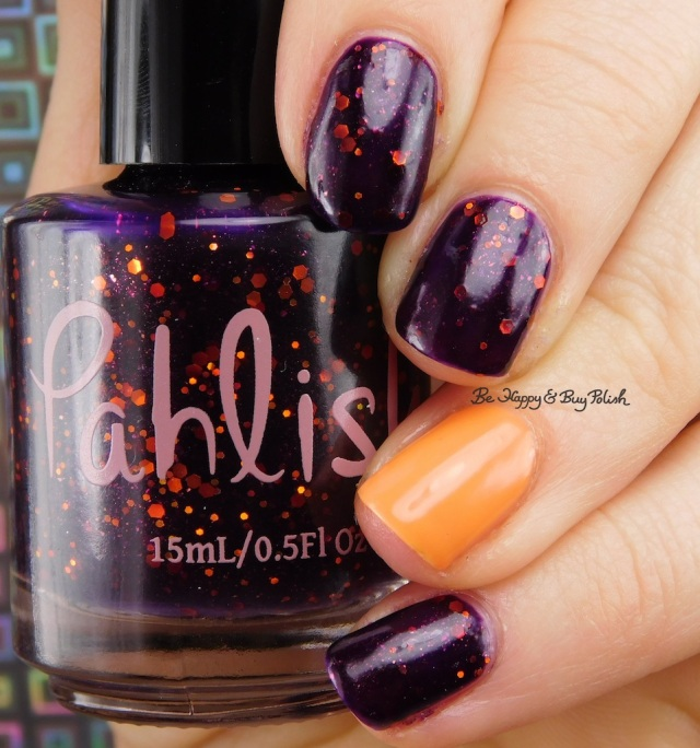 Pahlish Black Lace Elderberry, Bad Bitch Polish Witches Britches | Be Happy And Buy Polish