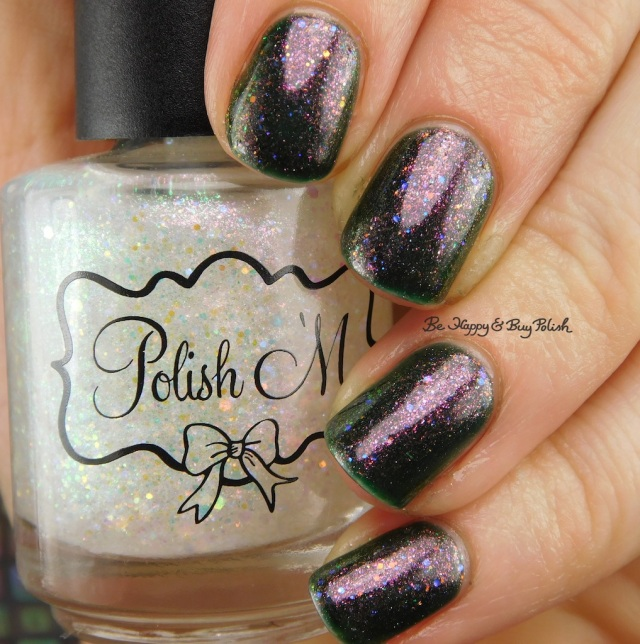 Polish 'M Dragonfire, Blackheart Beauty Oil Slick Iridescent | Be Happy And Buy Polish