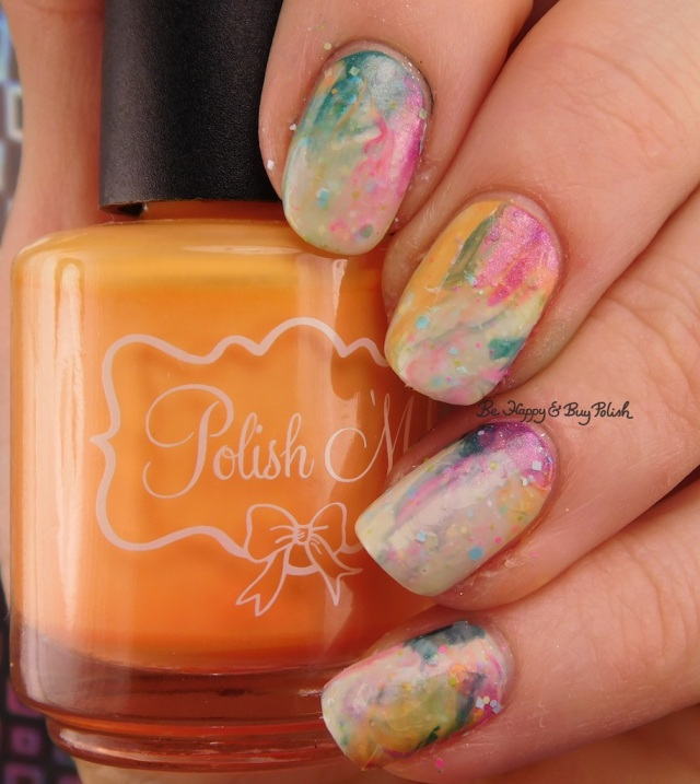 Polish 'M Tangelo, Zoltar's Fortune, Bees Knees Lacquer Salty Anon, Dreamland Lacquer Dragonberry II | Be Happy And Buy Polish