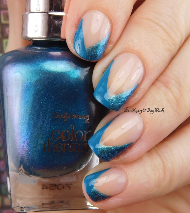 Sally Hansen Reflection Pool, Teal Good, Rosy Quartz | Be Happy And Buy Polish