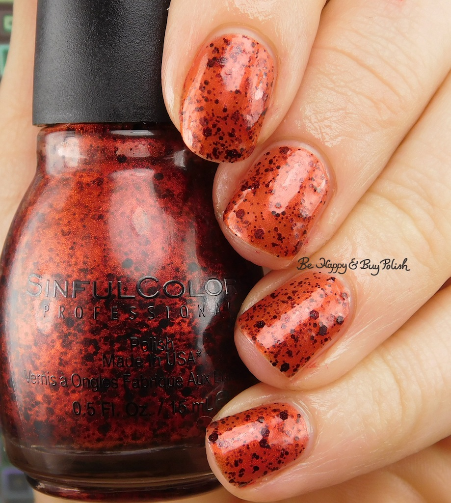 Walgreens Halloween Nail Polish: Sinful Colors Halloween 2017 Undead Red + Bite Me Nail
