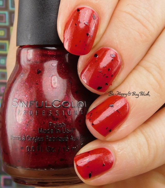 Sinful Colors Undead Red | Be Happy And Buy Polish
