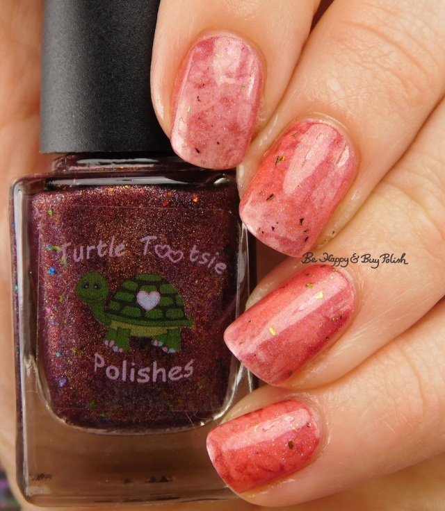 Turtle Tootsie Polishes Just Around the Bend, Polish 'M Danvers transition state | Be Happy And Buy Polish