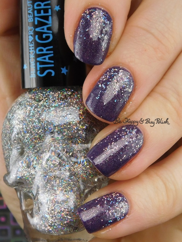 Blackheart Beauty AB Stargazer, Fancy Gloss purple Mystery Box Prototype 2016 | Be Happy And Buy Polish