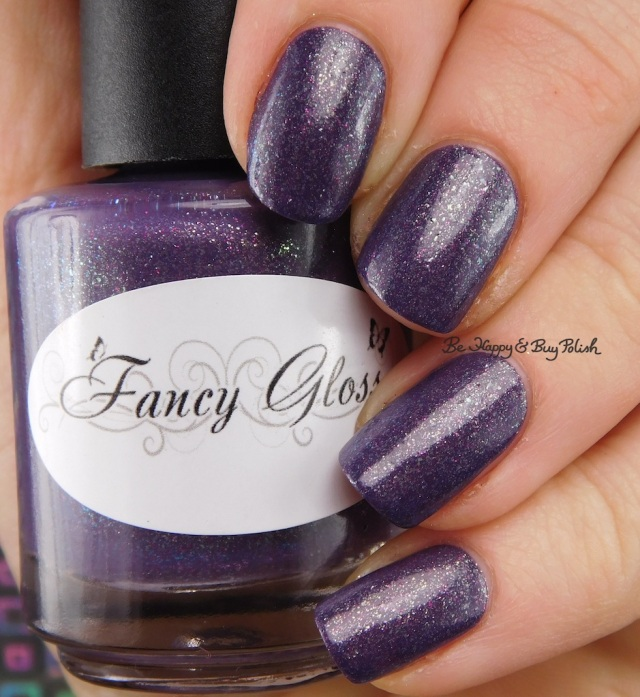 Fancy Gloss purple Mystery Box Prototype 2016 | Be Happy And Buy Polish