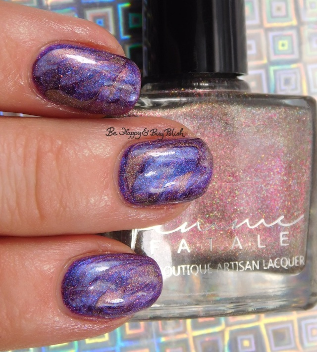 Femme Fatale Cosmetics Cry of the Red Sky, Tonic Polish Blanche 2017, Fancy Gloss Sodalite | Be Happy And Buy Polish