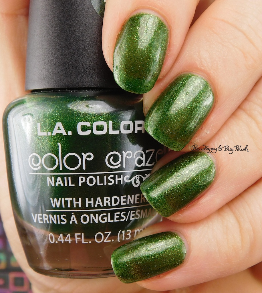 L.A. Colors Color Craze shimmer nail polishes | Be Happy and Buy Polish