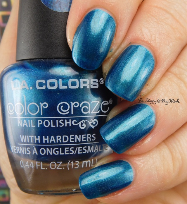 LA Colors Color Craze Pacific Blue | Be Happy And Buy Polish