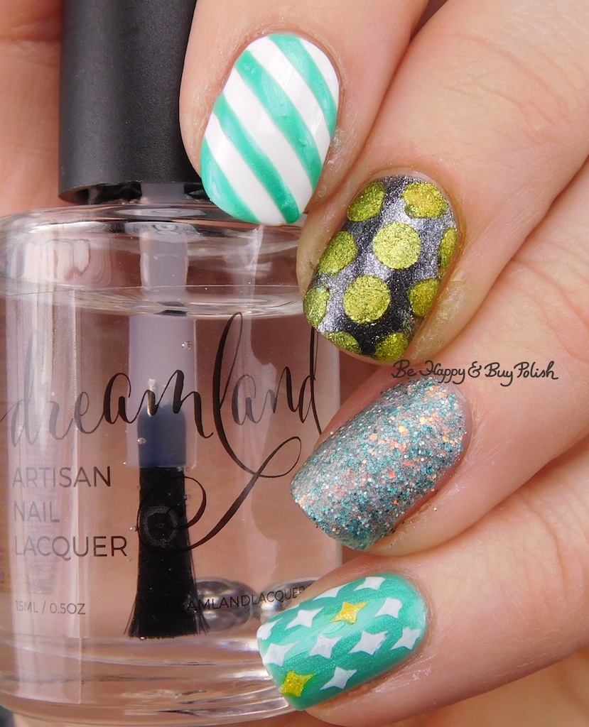 Failed Mismatched Print nail art with Formula X, Fancy Gloss ...