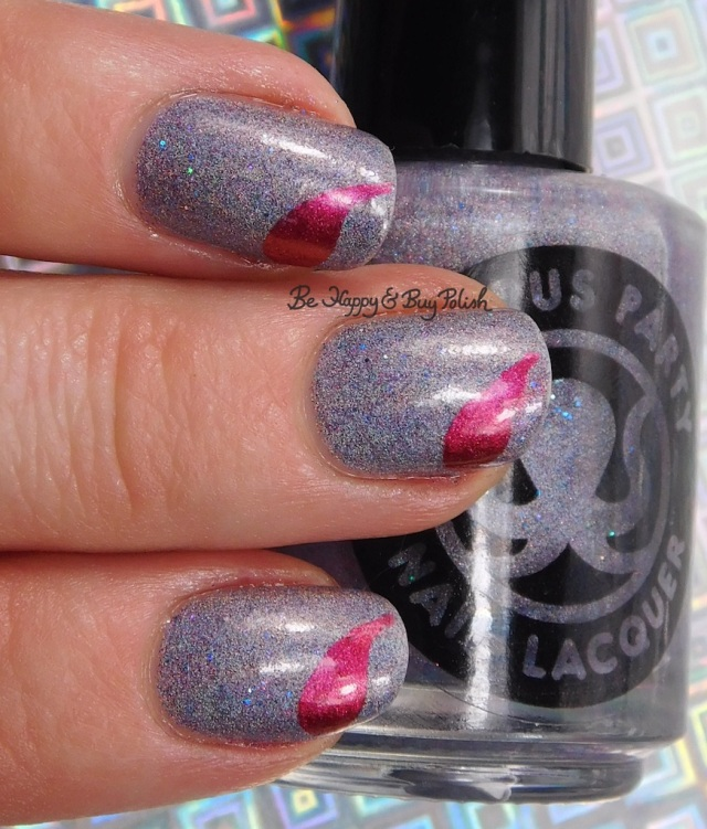Octopus Party Nail Lacquer Crepuscular, Celestial Cosmetics Daria Zaldrizoti, Polished Vino Raindrops vinyls | Be Happy And Buy Polish