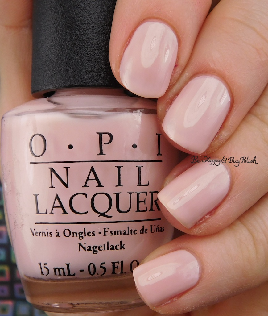 OPI I Love Applause nail polish swatch + review | Be Happy and Buy ...