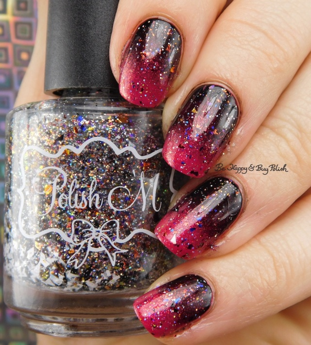 Polish 'M Waverly Hills, Cult Nails Nevermore, China Glaze Ahoy! gradient | Be Happy And Buy Polish
