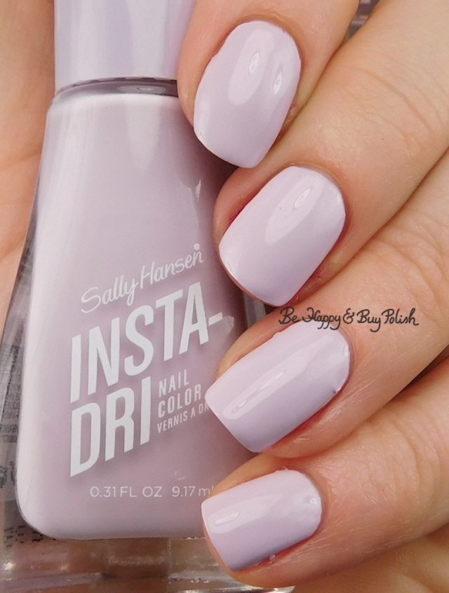 Sally Hansen Insta-Dri Heather Hustle | Be Happy And Buy Polish