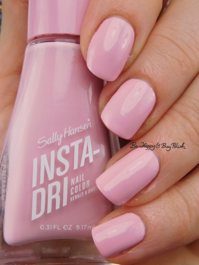 Sally Hansen Insta-Dri Racing Rose | Be Happy And Buy Polish