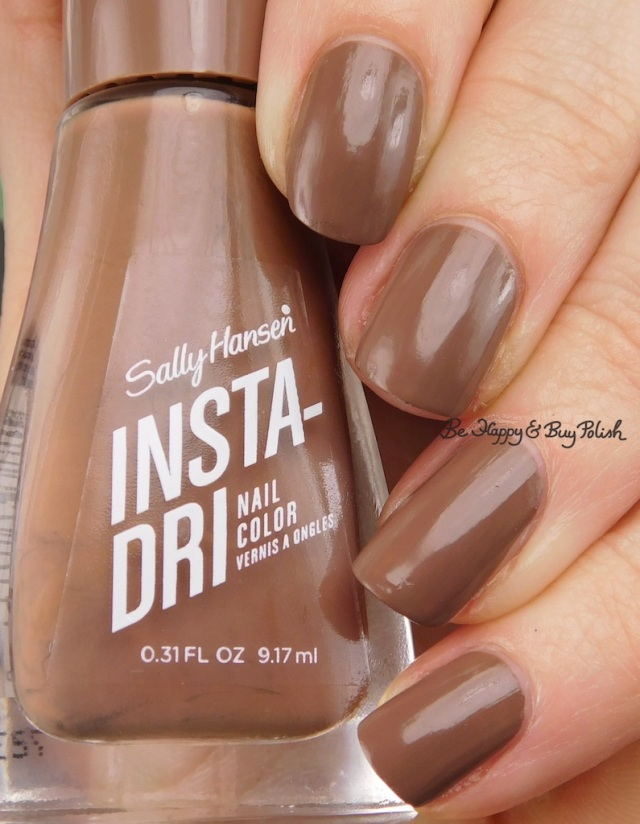 Sally Hansen Insta-Dri Taupe To Go | Be Happy And Buy Polish