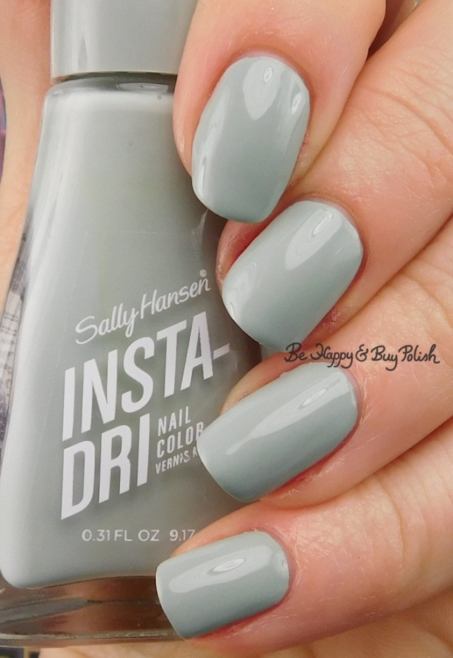 Sally Hansen Insta-Dri Thyme is Money | Be Happy And Buy Polish