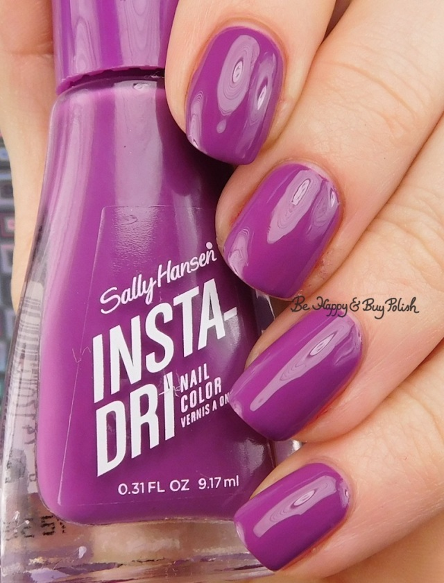 Sally Hansen Insta-Dri Va-Va Violet | Be Happy And Buy Polish