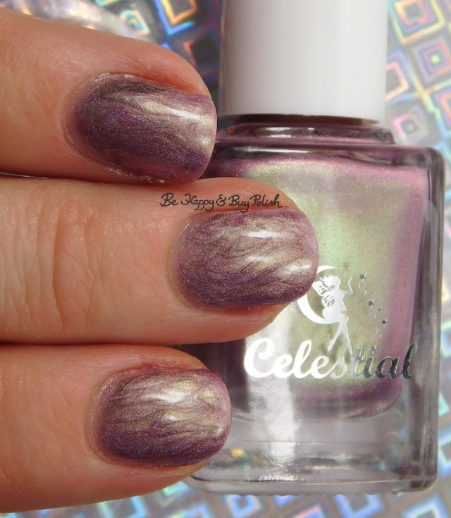 Celestial Cosmetics Cheap Distraction, Fancy Gloss Feeling Vampy | Be Happy And Buy Polish